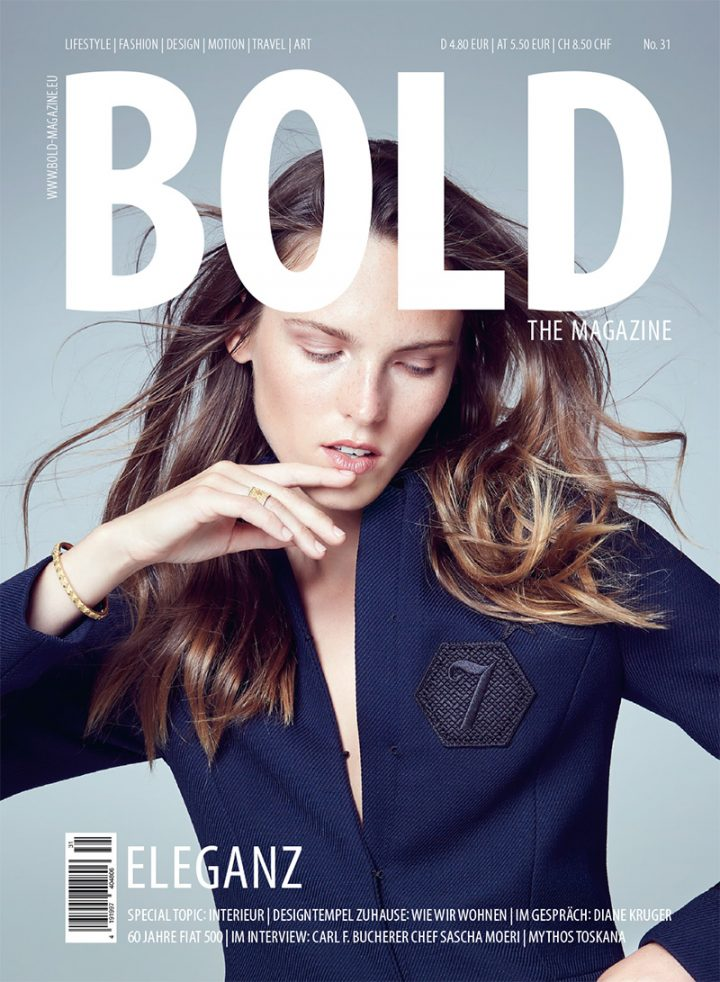 Cover BOLD THE MAGAZINE No31