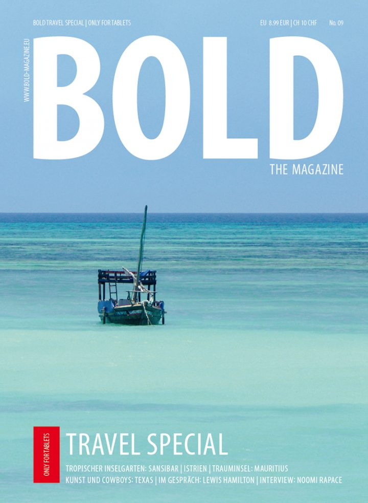 BOLD TRAVEL SPECIAL No09 Cover