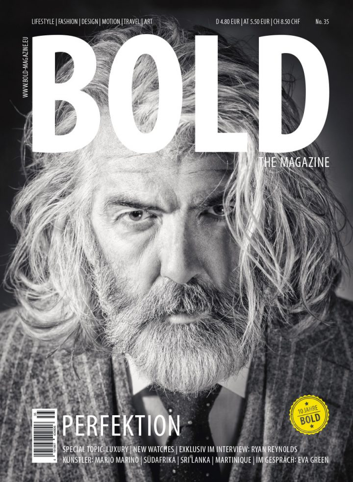Cover BOLD THE MAGAZINE No35
