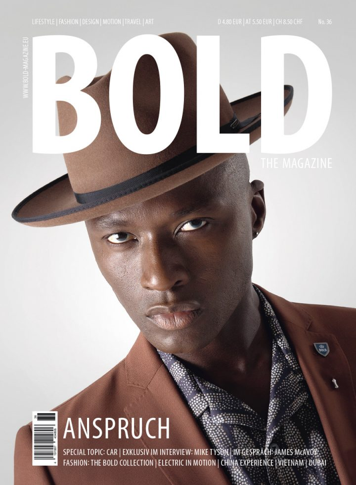 Cover BOLD THE MAGAZINE No36